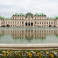 Upper Belvedere And Its Reflection  by Marc Henderson