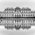 Upper Belvedere Palace, Vienna by David Birchall