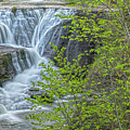 Upper Falls At Mine Kill State Park by Angelo Marcialis Melody Of Light Photography