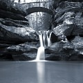 Upper Falls Hocking Hills Ohio by Dan Sproul