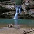 Upper Falls In Hocking Hills by Dan Sproul