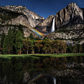 Upper Falls Moonbow by Anthony Michael Bonafede