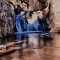 Upper Jemez Falls New Mexico by Jeff Swan