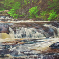 Upper Laverty Falls by Tracy Munson