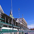 Upper Level Viewing Stands At Churchill Downs by Marian Bell