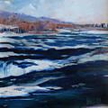 Upper Rapids Niagara Falls by J R Baldini