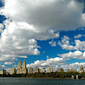 Upper West Side Cityscape by Allan Einhorn