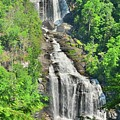 Upper Whitewater Falls Nc Summertime Vertical by Lisa Wooten