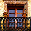 Upper Window Tlaquepaque by Mexicolors Art Photography