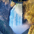 Upper Yellowstone Falls by James BO Insogna