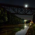 Upside-down Moonlight by Chris Bordeleau