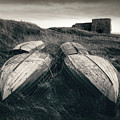 Upturned Boats by Dave Bowman