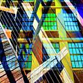 Urban Abstract 123 by Don Zawadiwsky