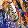 Urban Abstract 157 by Don Zawadiwsky