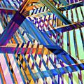 Urban Abstract 258 by Don Zawadiwsky