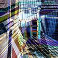 Urban Abstract 304 by Don Zawadiwsky