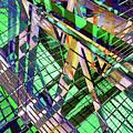 Urban Abstract 500 by Don Zawadiwsky