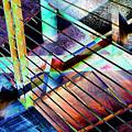 Urban Abstract 53 by Don Zawadiwsky