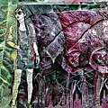 Urban Abstract,pop Art by Olga Lyakh