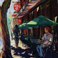 Urban Afternoon by Margaret  Plumb