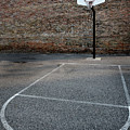 Urban Basketball Street Ball Outdoors by Lane Erickson