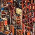 Urban Congestion by Jon Baldwin  Art