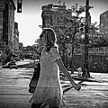 Urban Lady by Scott Ward