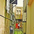 Urban Landscape-blind Alley by Kenneth William Caleno