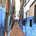 Urban Scene  by Hana Shalom