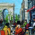 Urban Story - Champs Elysees by Mona Edulesco