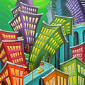 Urban Vertigo by Eva Folks