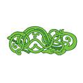 Urnes Snake Extended Stomach Retro by Aloysius Patrimonio