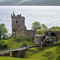 Urquhart Castle On Loch Ness by Gregory Dyer