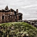 Urquhart Ruins IIi by Chuck Kuhn