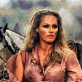 Ursula Andress by Sergey Lukashin