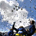 U.s. Air Force Academy Graduates Throw by Stocktrek Images