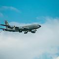 U.s. Air Force Airplane by E Faithe Lester
