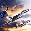 Us Air Force by Kurt Miller