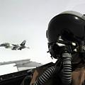 U.s. Air Force Pilot Takes by Stocktrek Images