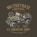 Us American Amry Jeep by Robinvd