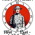 US Army First Division - WW1 by War Is Hell Store