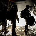 U.s. Army Green Berets Wait To Jump by Stocktrek Images