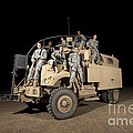 U.s. Army Medical Personnel Pose by Terry Moore