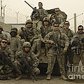 U.s. Army Soldiers Pose For A Photo by Stocktrek Images