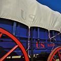 U S Army Supply Wagon by Carl Miller