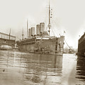 U.s. Army Transport Uss Mount Vernon 1917-1919 by California Views Archives Mr Pat Hathaway Archives
