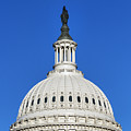 Us Capitol Building Dome by John Greim