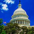 Us Capitol Dome by Nick Zelinsky