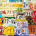 U S Car Plates by Lutz Baar