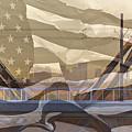 Us City Montage by Phyllis Denton